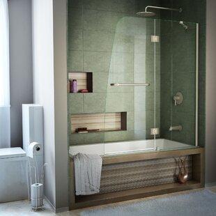 Hinged Shower Bathtub Doors