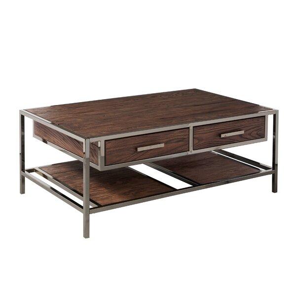 Brayden Studio Falkner Modern Industrial Style Coffee Table With