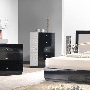 Black Lacquer Bedroom Furniture | Wayfair