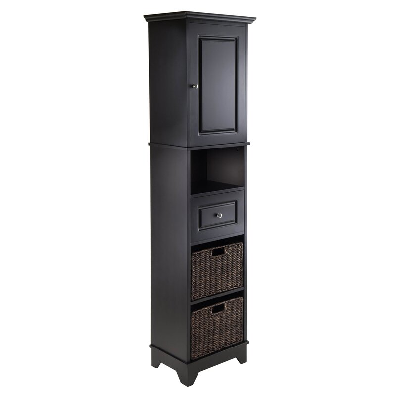 Lovely Pierrepont 1 Door Tall Accent Cabinet