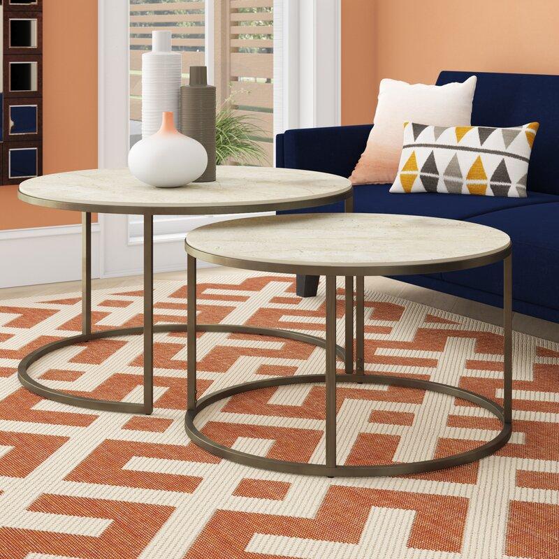 Next Coffee Table Set: Brayden Studio Masuda 2 Piece Coffee Table Set & Reviews