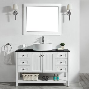 Nadel 48u0094 Single Bathroom Vanity Set with Mirror