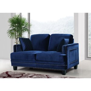 Dia Nailhead Loveseat by Willa Arlo Interiors