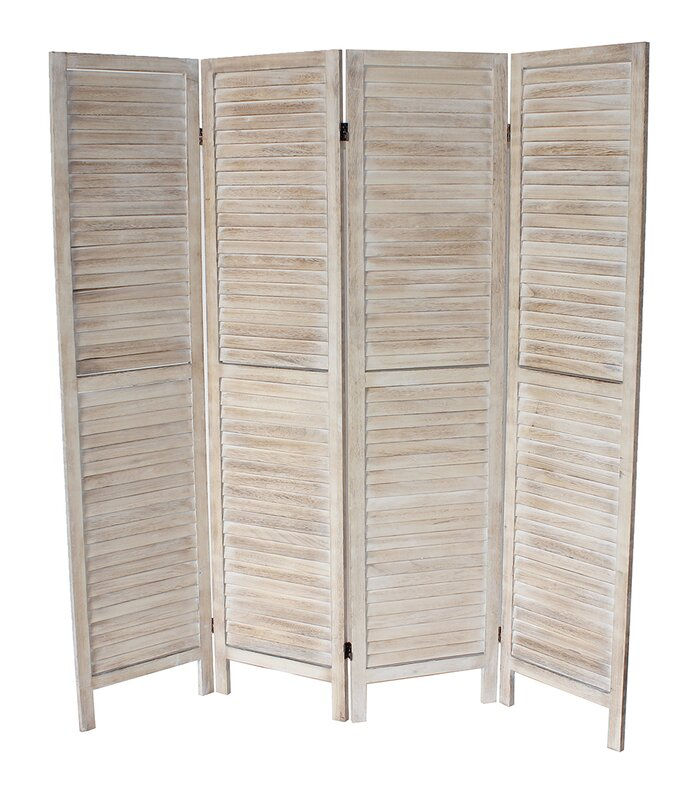 Laurel Foundry Modern Farmhouse Bozeman X Panel Room - 4 panel room divider