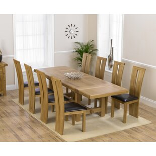 Ritual Extendable Dining Set With 8 Chairs