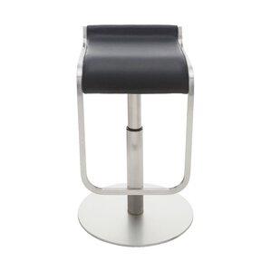 Adora Adjustable Height Bar Stool by Nuevo