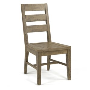 Bjoern Solid Wood Dining Chair (Set of 2) by 17 Stories