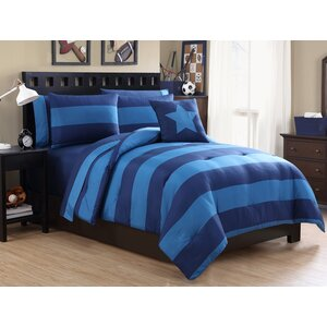 Vicky 8 Piece Full/Double Comforter Set