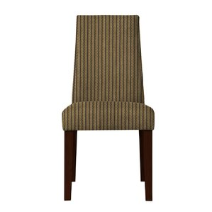 Haddonfield Stripe Parsons Chair (Set of 2) by Latitude Run