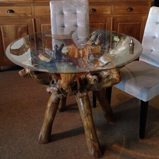 Teak Root Dining Table Base Zef Jam - Teak root dining table base