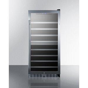 62 Bottle Dual Zone Convertible Wine Cooler by Summit Appliance