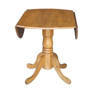 Carrie Dual Drop Leaf Dining Table by International Concepts