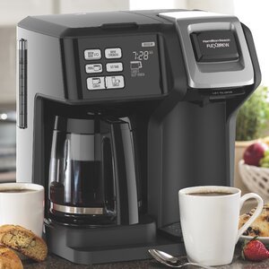12-Cup FlexBrewu00ae 2-Way Coffee Maker