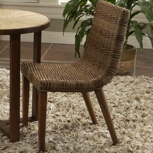 Illusion Solid Wood Dining Chair by Jeffan