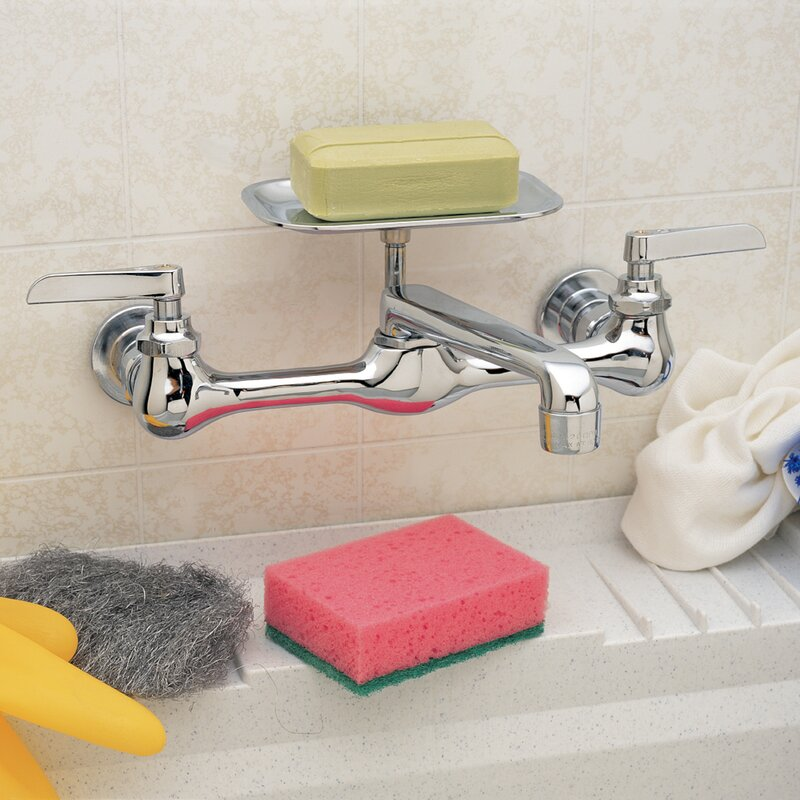 Waxman PlumbCraft Wall Mounted Bathroom Faucet | Wayfair