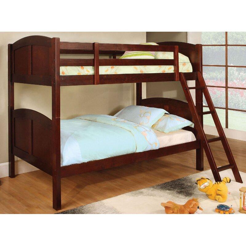 A&J Homes Studio Azalea Twin Over Twin Bunk Bed & Reviews