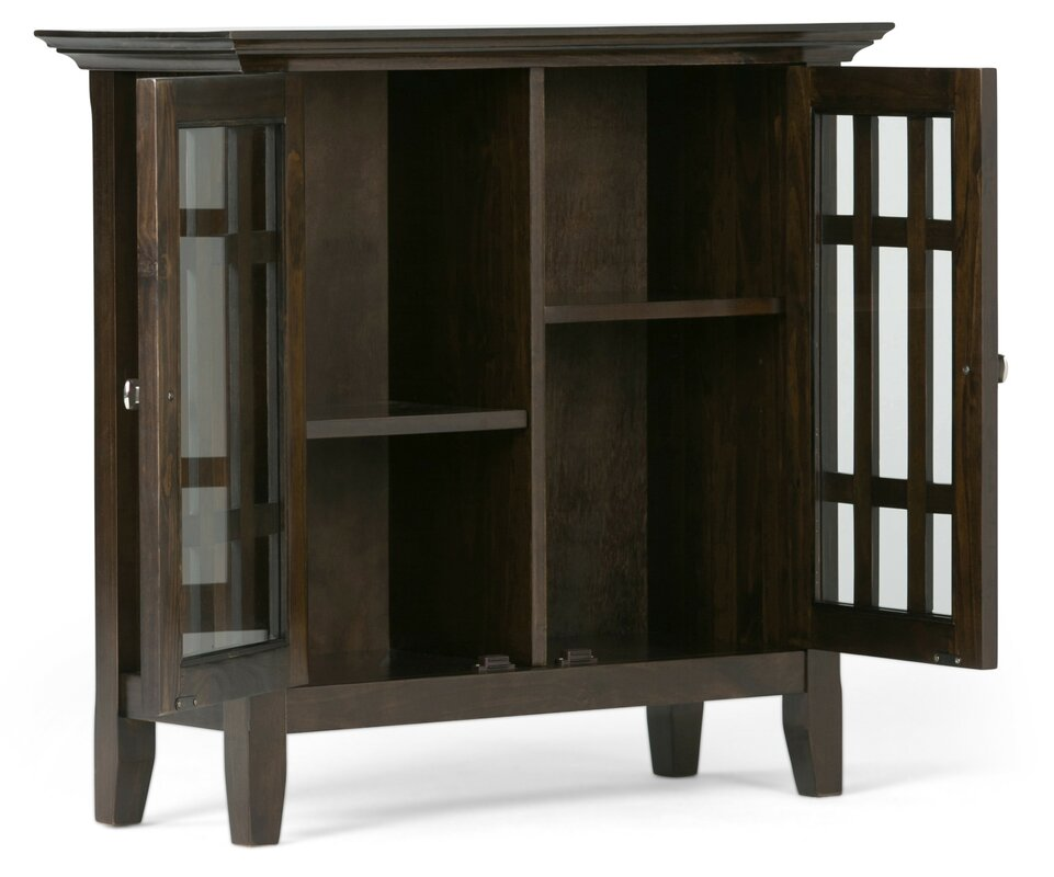 Bedford Low Storage Media Accent Cabinet