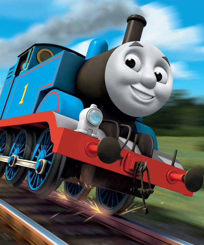 Good Thomas The Tank Engine Wall Mural Part 21