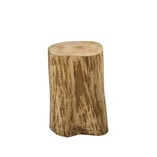 Lochhead Natural Tree Stump End Table