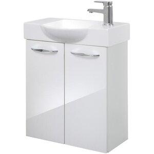Fackelmann 55 cm Wandmontierter Waschtisch Sceno