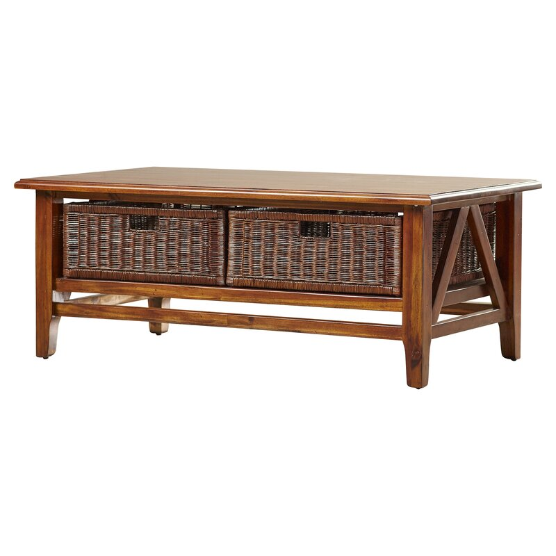 Carter Acacia Coffee Table