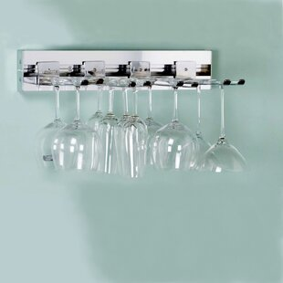Arrange a Space Wall Mounted Wine Glass Rack