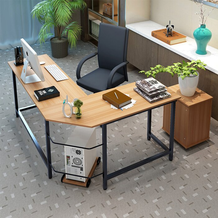 tetrick lshaped computer desk