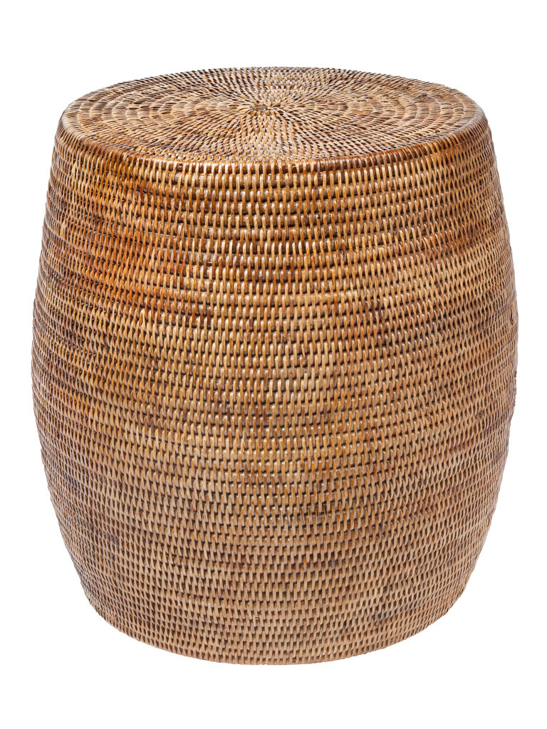 Superbe Kouboo Round Rattan Stool U0026 Reviews | Wayfair