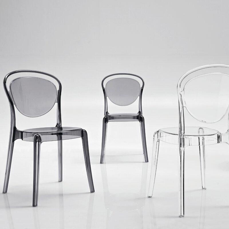 Parisienne Patio Dining Chair & Calligaris Parisienne Patio Dining Chair u0026 Reviews | Wayfair