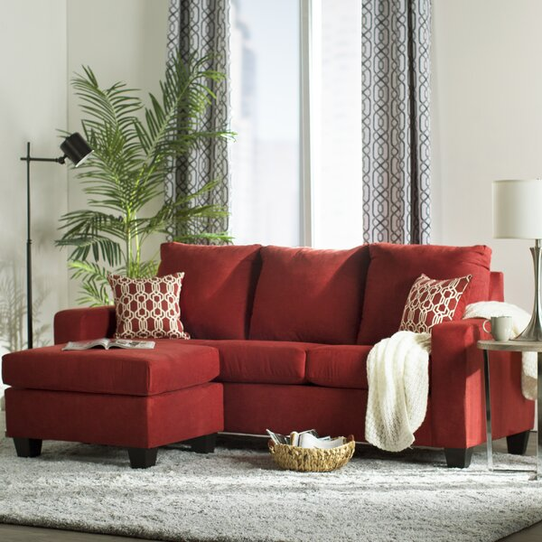 Next Furniture Living Room: Mercury Row Morpheus Reversible Sectional With Ottoman