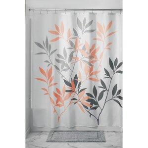 orange and gray shower curtain. Leaves Shower Curtain Orange Curtains You ll Love  Wayfair