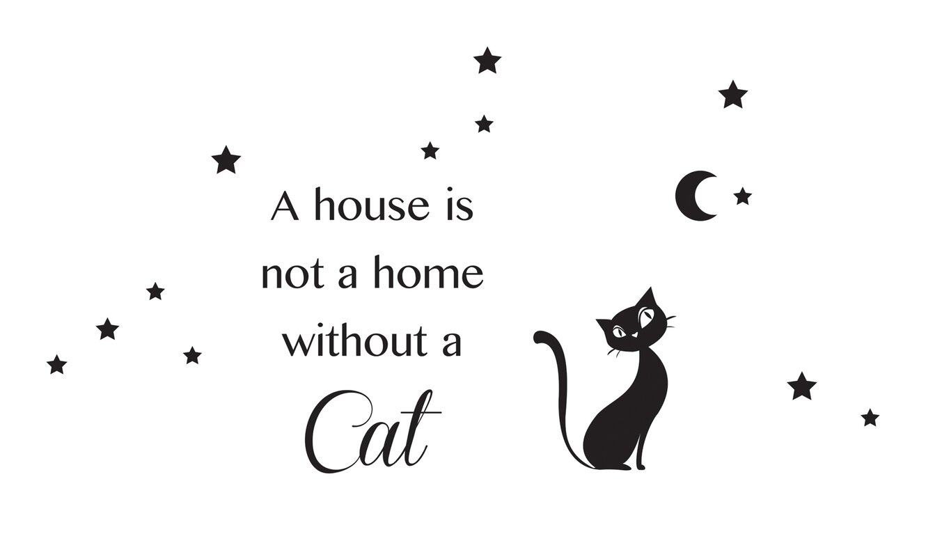 Wallpops home decor line cat silhouette wall decal reviews home decor line cat silhouette wall decal amipublicfo Gallery