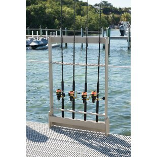 Polyresin Fishing Rod Holder Freestanding Fishing Rack