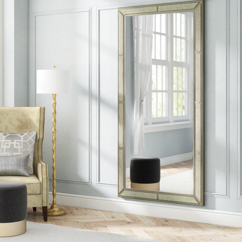 b2ba124706 Willa Arlo Interiors Roxie Floor Full Length Mirror & Reviews | Wayfair