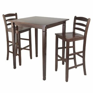 Kingsgate 3 Piece Pub Table Set by Luxury Home