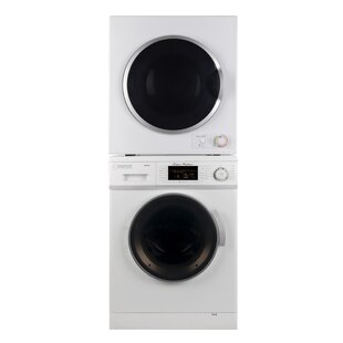 Washer And 3.5 Cu. Ft Electric Dryer Laundry Center