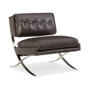 Cherie Metal Frame Convertible Chair by Hook..