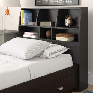 Distefano Cly Bookcase Headboard With 6 Shelves