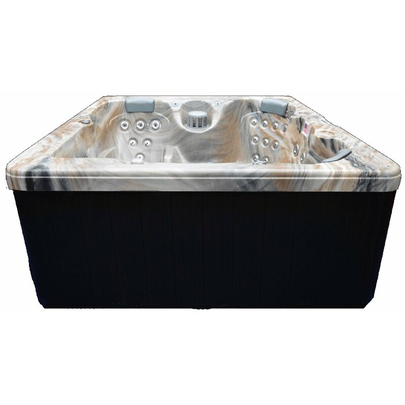 5 Person 51 Jet Hot Tub With Ozone System