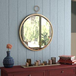 f86895ed7c73 Brushed Gold Bathroom Mirror