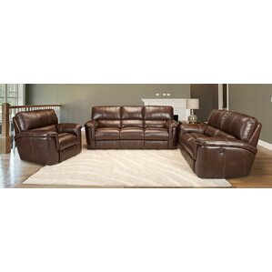 Red Barrel Studio Blair Leather Configurable Living Room Set Image