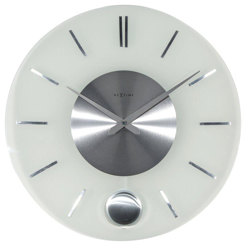 nextime wanduhr stripe pendulum 40 cm bewertungen. Black Bedroom Furniture Sets. Home Design Ideas