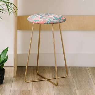 Wagner Campelo Marble Waves Desert 25 Bar Stool
