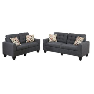 contemporary living room furniture sets. Amia 2 Piece Living Room Set Contemporary Furniture Sets