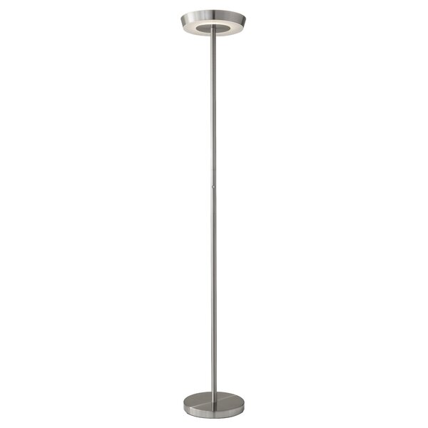 led lighting in kitchen wade logan juniper 71 quot led torchiere floor lamp amp reviews 6930