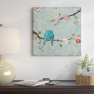 Canvas Paintings Of Birds Wayfair