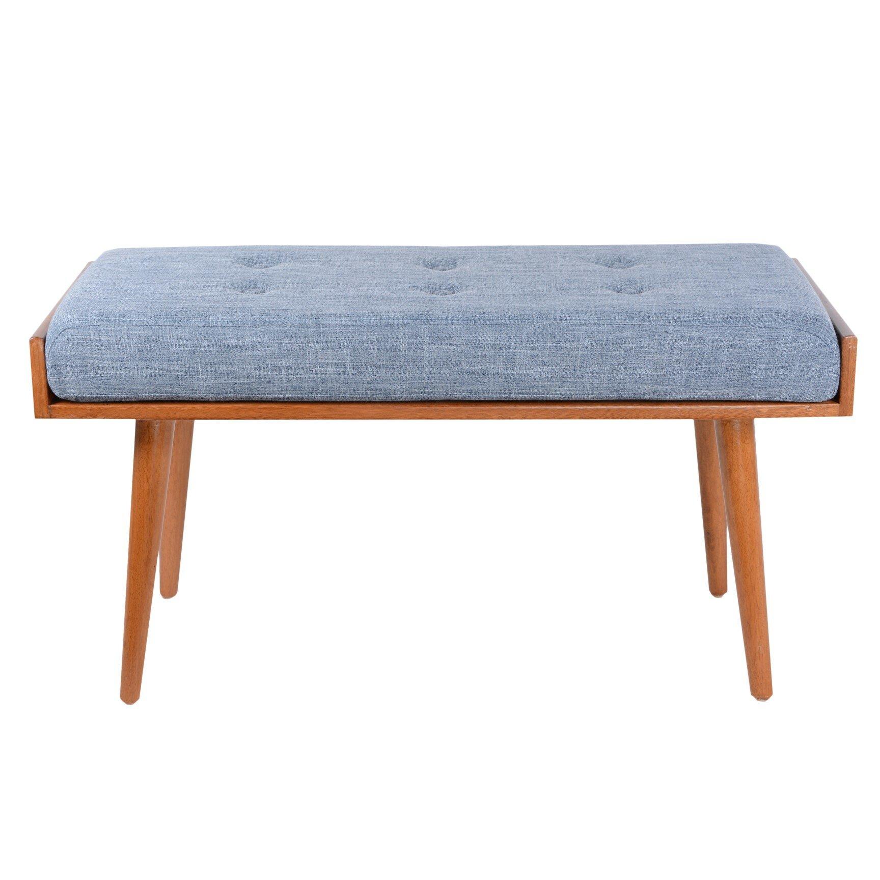 Porthos Home Robin Wood Bench & Reviews | Wayfair