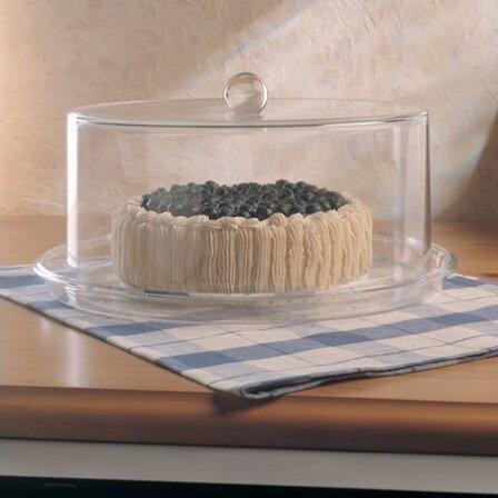 Grainware Serving Necessities Cake Plate with Dome & William Bounds Grainware Serving Necessities Cake Plate with Dome ...