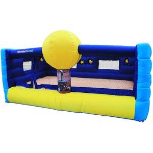 Inflatable Mars Landing Jump N' Lit Bounce House