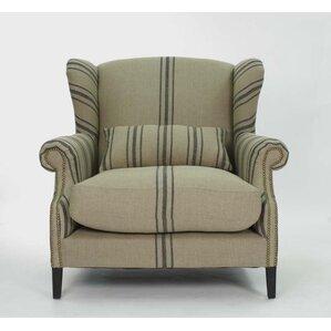 Napoleon Half Wingback Chair by Zentique Inc.